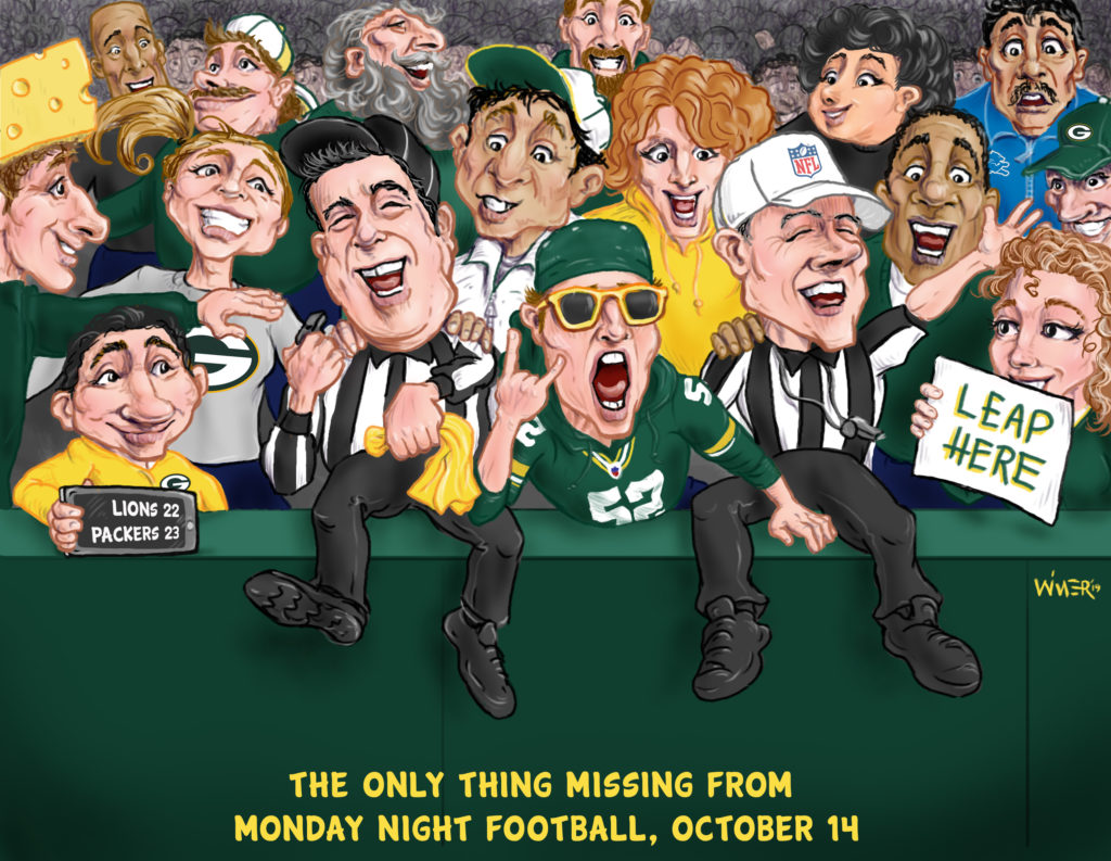 Cartoon Nfl Refs Need To Get It Together